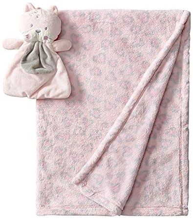 Amazon.com : Baby-Girls recién nacido Manta 2 piezas con el gato de ...