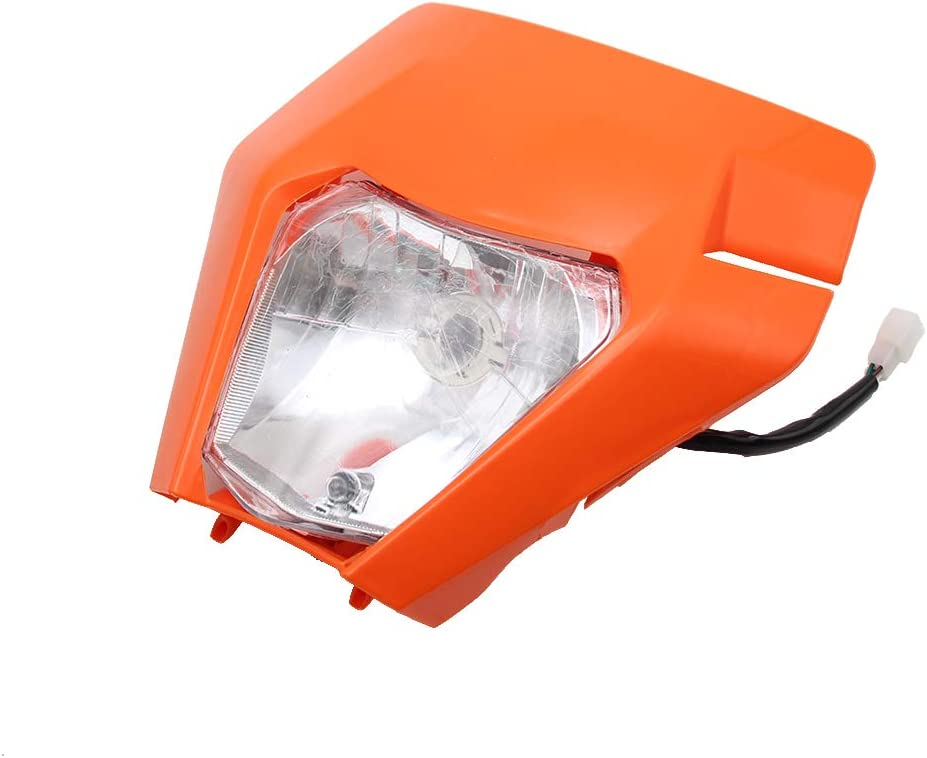 PRO BAT Motorcycle Dirt Bike Motocross Universal Headlight For 2017 KTM SX SX-F EXC EXC-F Headlamp