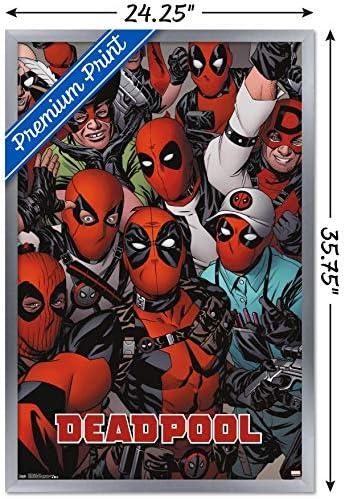 "Deadpool Comic Hero Movie 36/"" x 24/"" Large Wall Poster Print Fan Art"