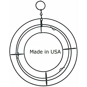 "9"" Round Living Wreath Wire Form 9"