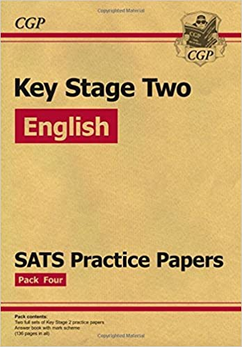 Book KS2 English SATS Practice Papers: Pack 4 (updated for the 2017 tests and beyond) by CGP Books (2016-09-07)