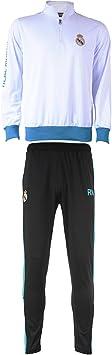 Real Madrid RMA-SA-8001 BC/B - Conjunto de chándal Unisex ...