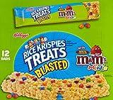 Rice Krispies Treats Blasted M&M'S Minis Square with Milk Chocolate Candies. 12 - 2.1 Oz Bars