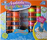 Elmer's Fantastic Finger Paint Pack of 32, with Paper, Smock & Table Mat Included