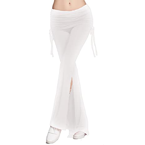 Swallowuk Mujeres Casual Elástico Cintura Pantalones ...