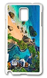 Adorable ayana resort bali Hard Case Protective Shell Cell Phone Samsung Galaxy Note4 - PC White WANGJING JINDA