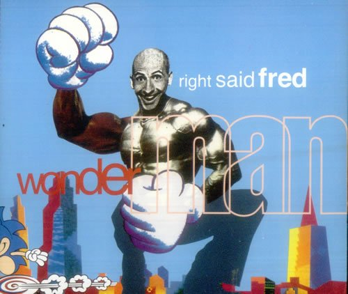 Right Said Fred - Wonderman [single-Cd] - Zortam Music