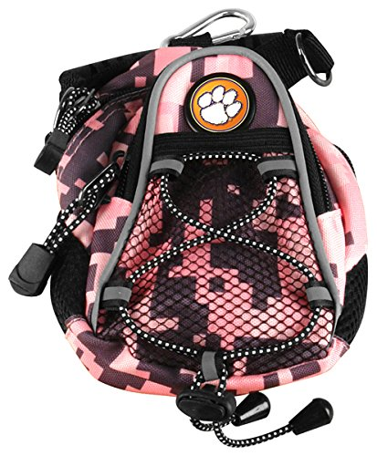 NCAA Clemson Tigers - Mini Day Pack - Pink Digi Camo by LinksWalker