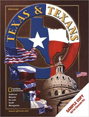 Texas And Texans Student Edition Adrian N Anderson