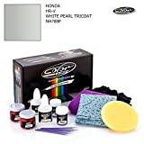 HONDA HR-V / WHITE PEARL TRICOAT - NH788P / COLOR N DRIVE TOUCH UP PAINT SYSTEM FOR PAINT CHIPS AND SCRATCHES / PLUS PACK