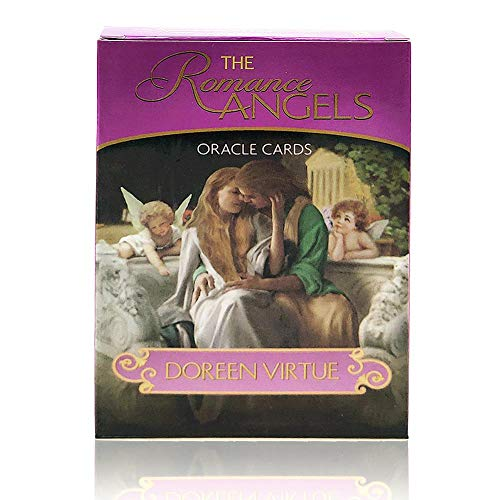 44 New Gold-Plated Series Romance Oracle Cards, Love Angel Card, God Card, Out of Print Rare Collection (with Guide) from Lijuan Qin