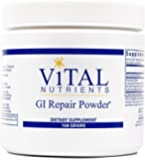 Vital Nutrients - GI Repair Powder - Promotes Healthy Intestinal Function and a Healthy Gastrointestinal Lining - 168 Grams