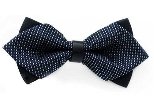 Style Pre Party Designs Ties Westeng Tie Blue Wedding Tied 1pc Bow New Men's Polyester Various Bow qERCHw0R
