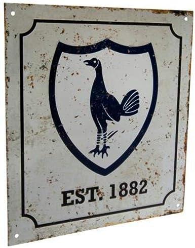 Tottenham Hotspur F.C Metal Window Sign PLAQUE GIFT