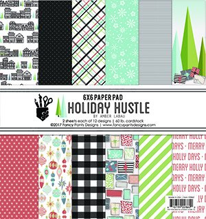 Fancy Pants Holiday Hustle 6x6 Paper Pad
