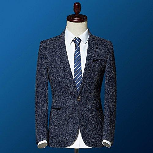 Jacket Dark Blue amp;blazers Suit casual Coat Yhnsxz Suit Blazer blazers men's suits Suit Boutique Men's L xx0wO