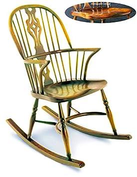 4184dd2e6 Hecho a mano Inglés mecedora: fabricado en Inglaterra: Una excelente  calidad, Inglés silla fabricado en madera ...