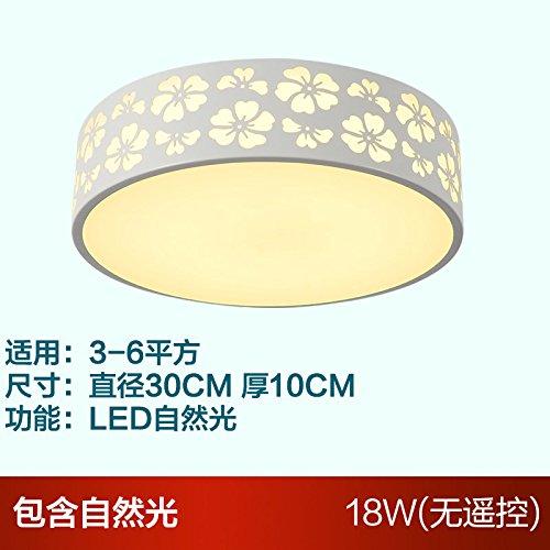 Lampe Chaleureux RondeLampeCadre Led De Plafond Simple Chambre 1TKlFcuJ3