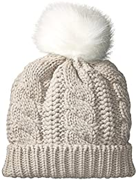 Women's Cable Knit Hat Accessory