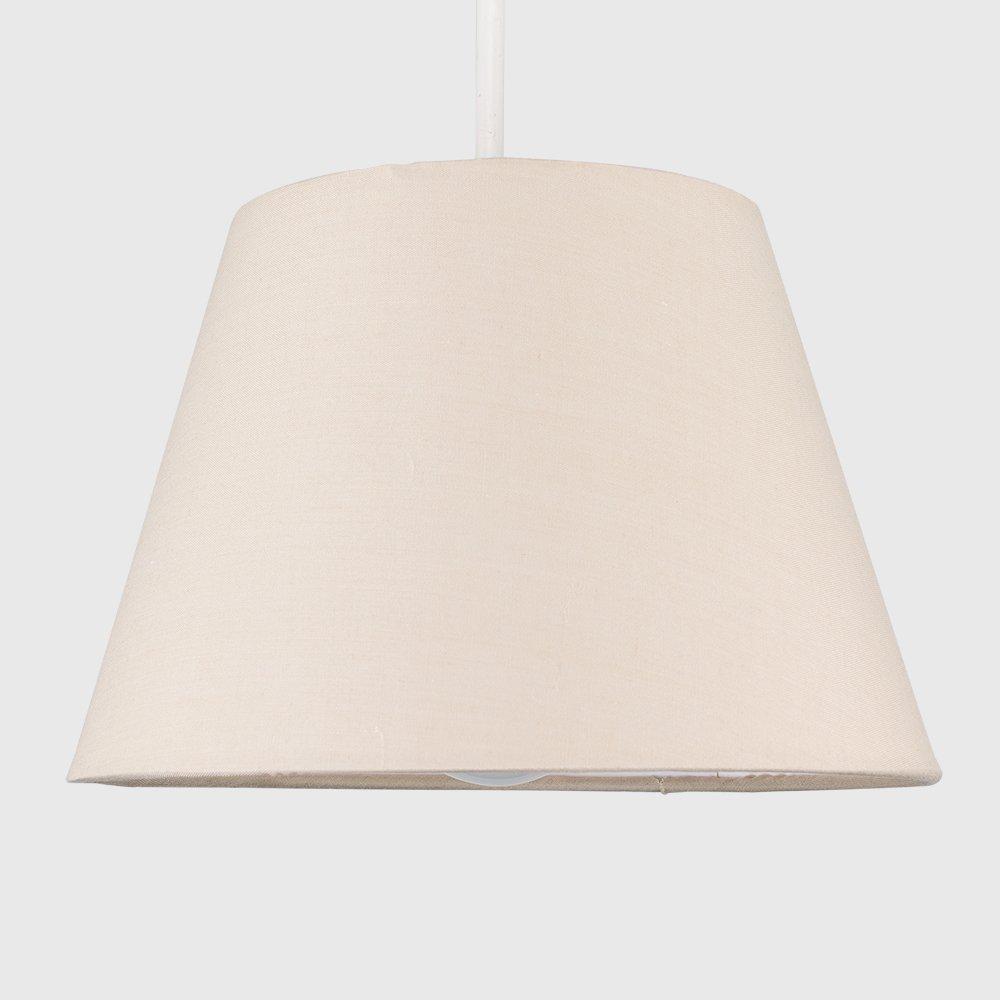 beige de forma c/ónica MiniSun Moderna pantalla para l/ámpara de techo o mesa 20cm