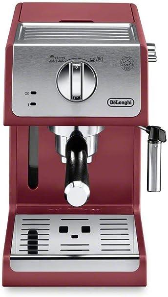 De/'Longhi ECP3620 15 Bar Espresso and Cappuccino Cappuccino Machine Silver