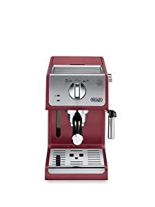 De'Longhi ECP3220R 15 Bar Espresso Machine with with Advanced Cappuccino System Red