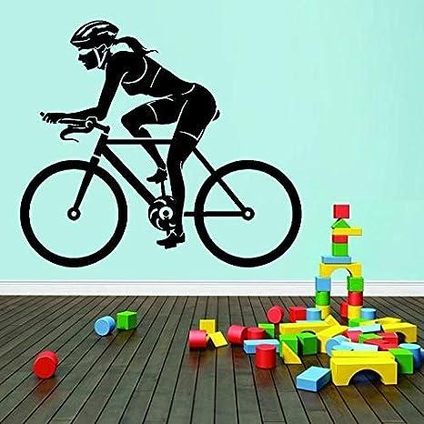 haochenli188 Bicicleta Mujer Mujer Ciclista Deporte Etiqueta de la ...