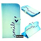 Moto G Case,M-Zebra Premium PU Leather Stand Wallet Type Magnet Design Flip Case Cover for Motorola Moto G, with Screen Protectors+Stylus+Cleaning Cloth (Blue 2)