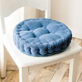DADAO Office Chair Cushion - Student Stool Round Chair Pads - 8cm Thick-O Diameter:38cm(15inch)