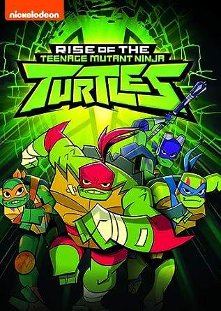 Amazon.com: Rise of the Teenage Mutant Ninja Turtles: Artist ...