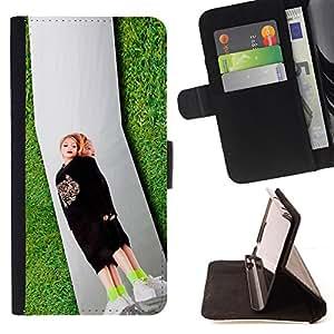 DEVIL CASE - FOR Sony Xperia Z1 Compact D5503 - tavi gevinson zerkalo bullett - Style PU Leather Case Wallet Flip Stand Flap Closure Cover