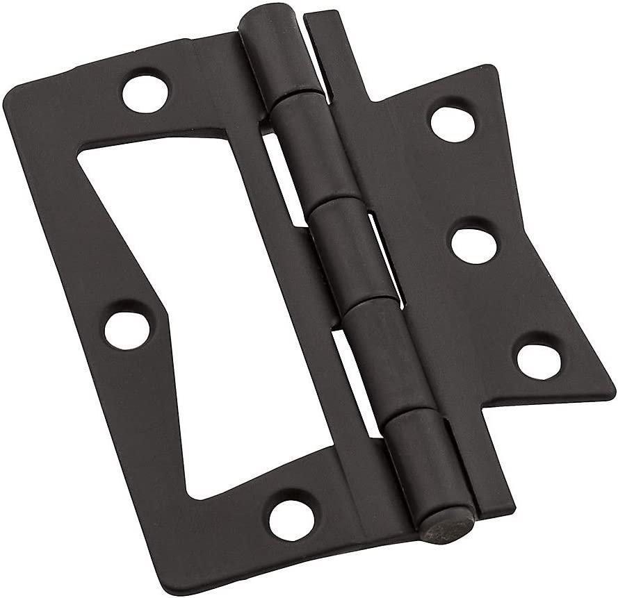 - Quantity 5 National Mfg//Spectrum Brands Hhi N830-436 Surface-Mounted Hinge Non-Mortise 3 x 3-In Oil-Rubbed Bronze