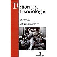 DICTIONNAIRE DE SOCIOLOGIE 3ED NP