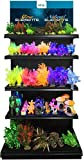 ELIVE 034283 Glow Elements Plants Display with GI Led Strip, 140Piece
