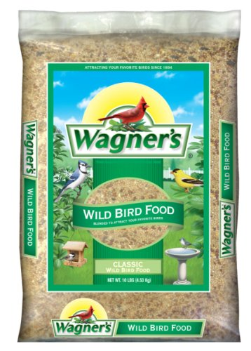 (Wagner's 52002 Classic Wild Bird Food, 10-Pound)