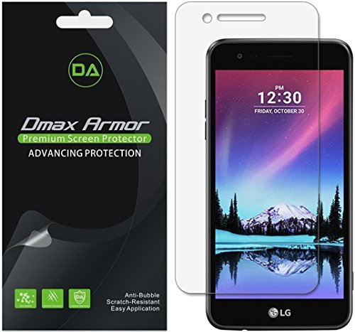 [6-Pack] Dmax Armor for LG Rebel 3 LTE Anti-Glare & Anti-Fingerprint (Matte) Screen Protector - Lifetime Replacement
