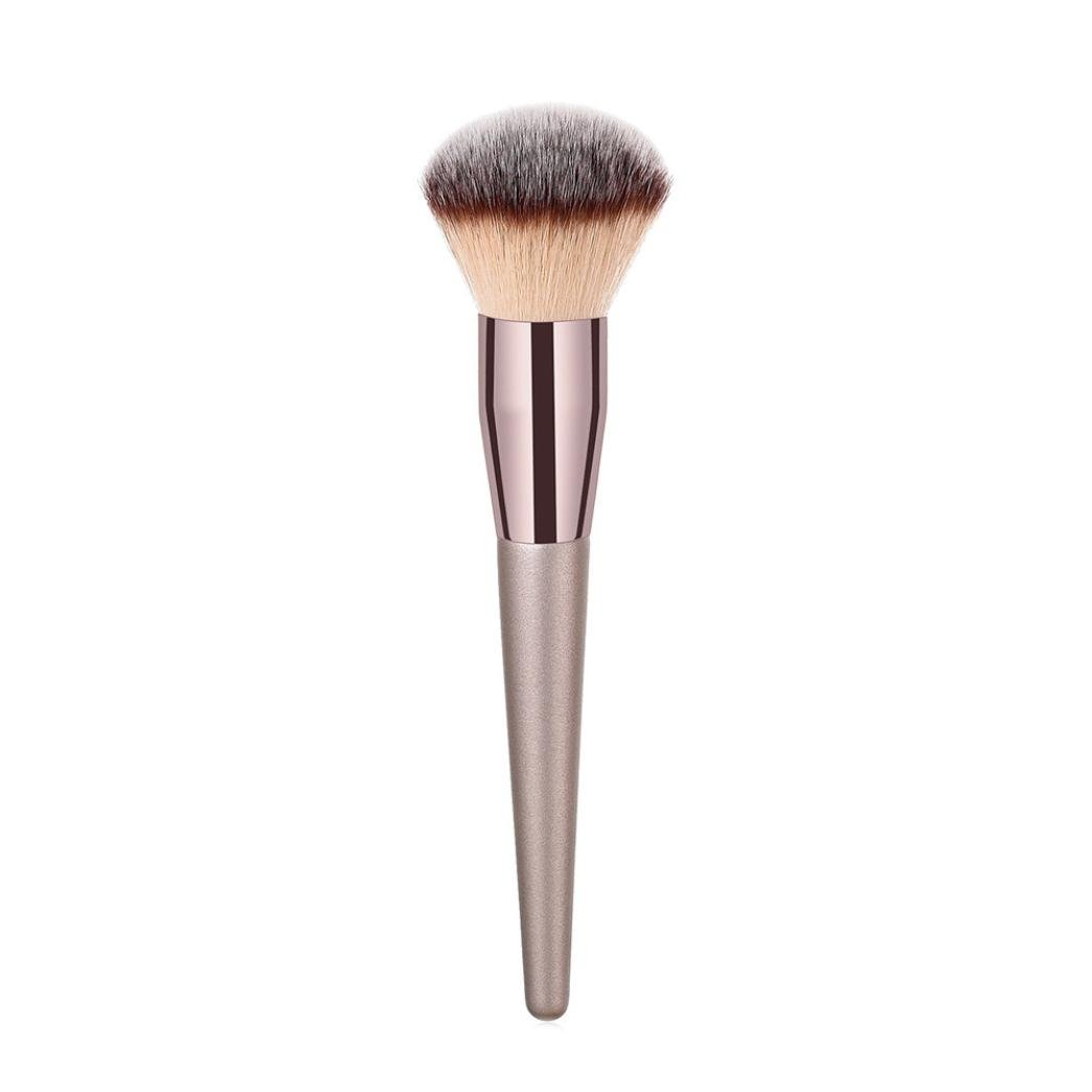 Wakeu Foundation Makeup Brush Flat Top Kabuki Brush for Face - Perfect For Blending Liquid, Cream or Flawless Powder Cosmetics - Concealer,Buffing (01)