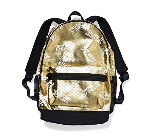 Victoria's Secret Pink Fashion Show 2014 Limited Edition Bling Gold Backpack