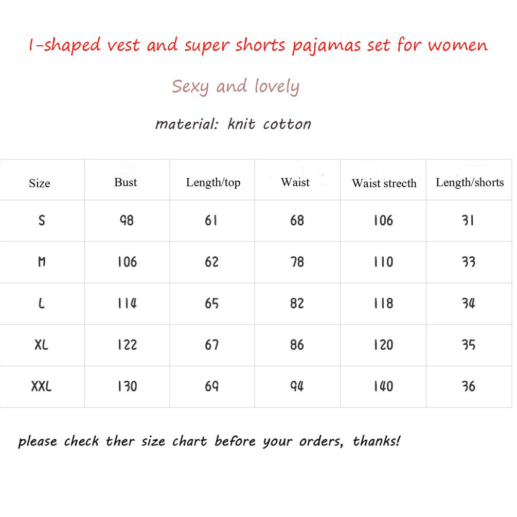 ENJOYNIGHT Women\'s Short Sexy Pajama Set Sweetness Racerback Tank and Shorts Sleepwear PJs Set (Sleepy Sheep, XXL (24-26))