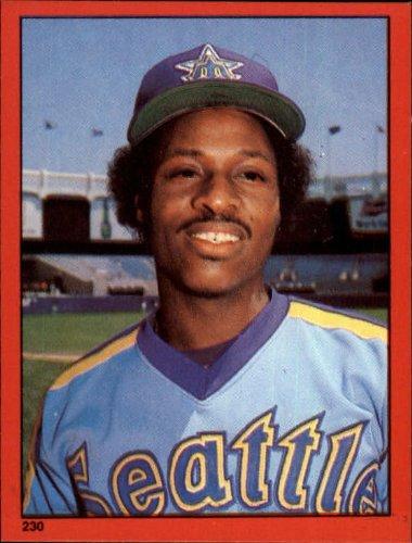 1982 Topps Baseball Sticker #230 Lenny Randle Mint - Topps 1982 Sticker Baseball