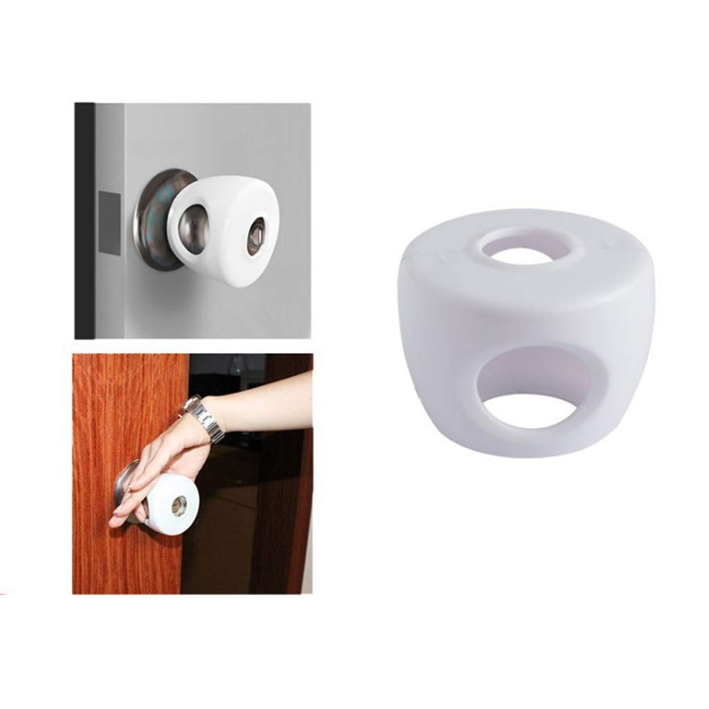 Botrong Door Lever Lock Child Proof Doors Handles Adhesive Child Safety