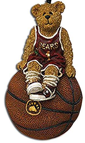 - Boyds Basketball Bear Hoopster Basketball Christmas Ornament