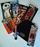 Star Wars Gift Set with Coloring Books, Winter Hat, Light Up Lightsaber and much More
