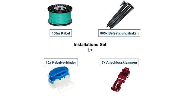 Kit de instalación L + Viking imow IKIT Cable Ganchos Conector ...