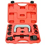 8milelake 11pcs Upper Control Arm Bushing Remover Install Forged C Frame Service Tool Set