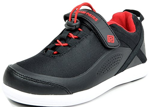 DREAM PAIRS Boys 160507-K Black Red Fashion Running Shoes Sneakers Size 13 M US Little Kid