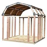 EZBUILDER 70188 Barn Style Shed Instant Framing