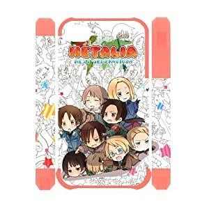 Happinessexplorer Hand Made Snap-on Case Cartoon & Anime Series Hetalia 3D Polymer iPhone 6 4.7 Case Cover - The Best Holiday Gift