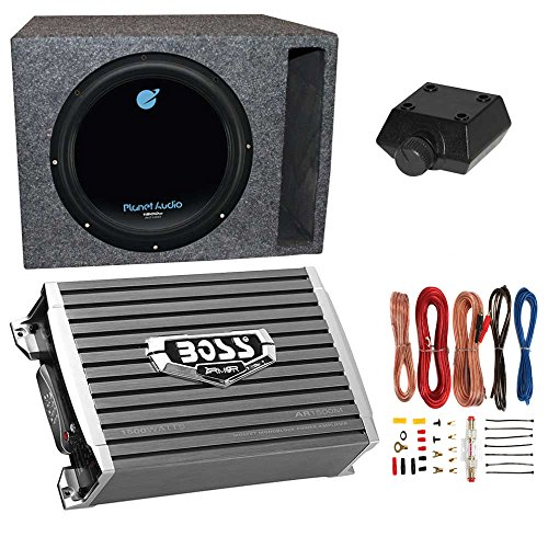 12in subwoofer and amp package - 7