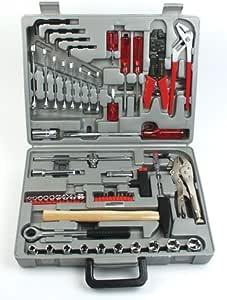 Mannesmann - M 294-100 - Maletín de herramientas de 100 piezas, acero especial: Amazon.es: Bricolaje y herramientas